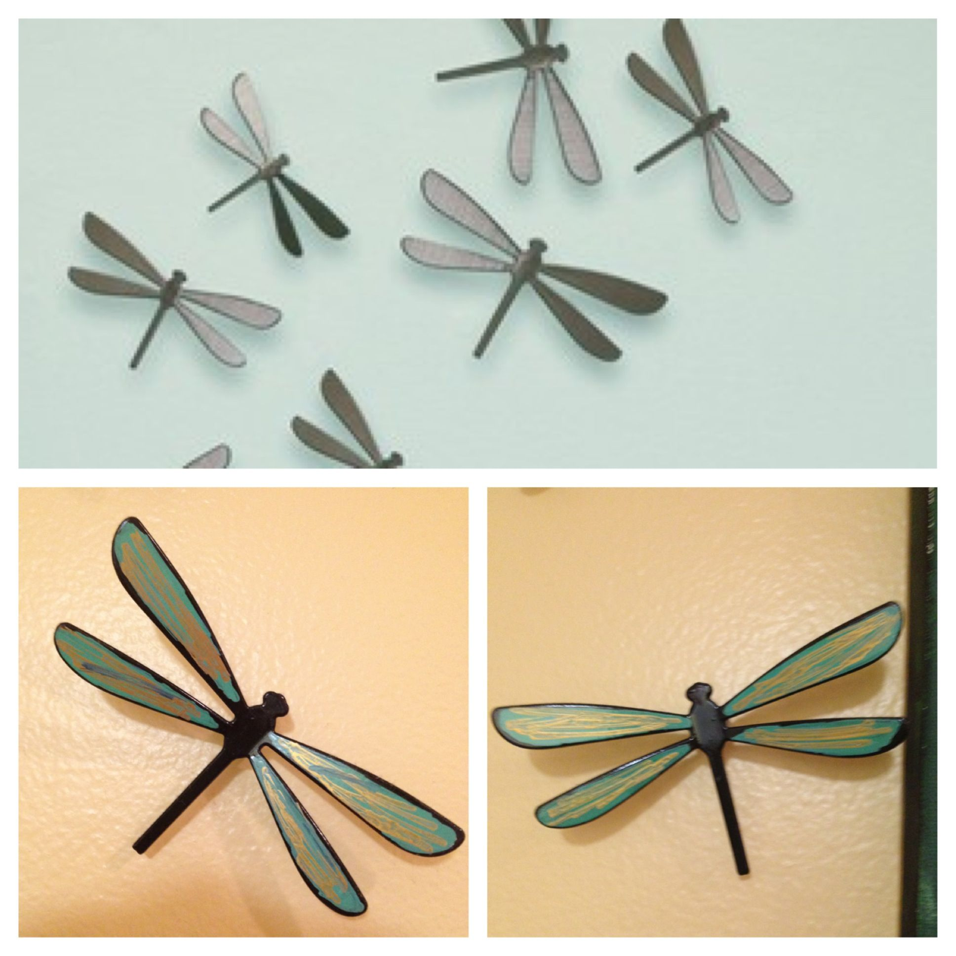 Umbra dragonflies + some paint markers= customized wall decor | Home ...
