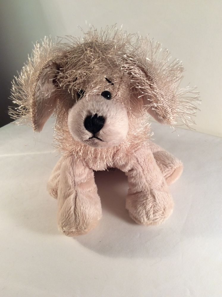 Ganz Webkinz Plush Golden Tan Retriever Dog Stuffed Animal Hm010