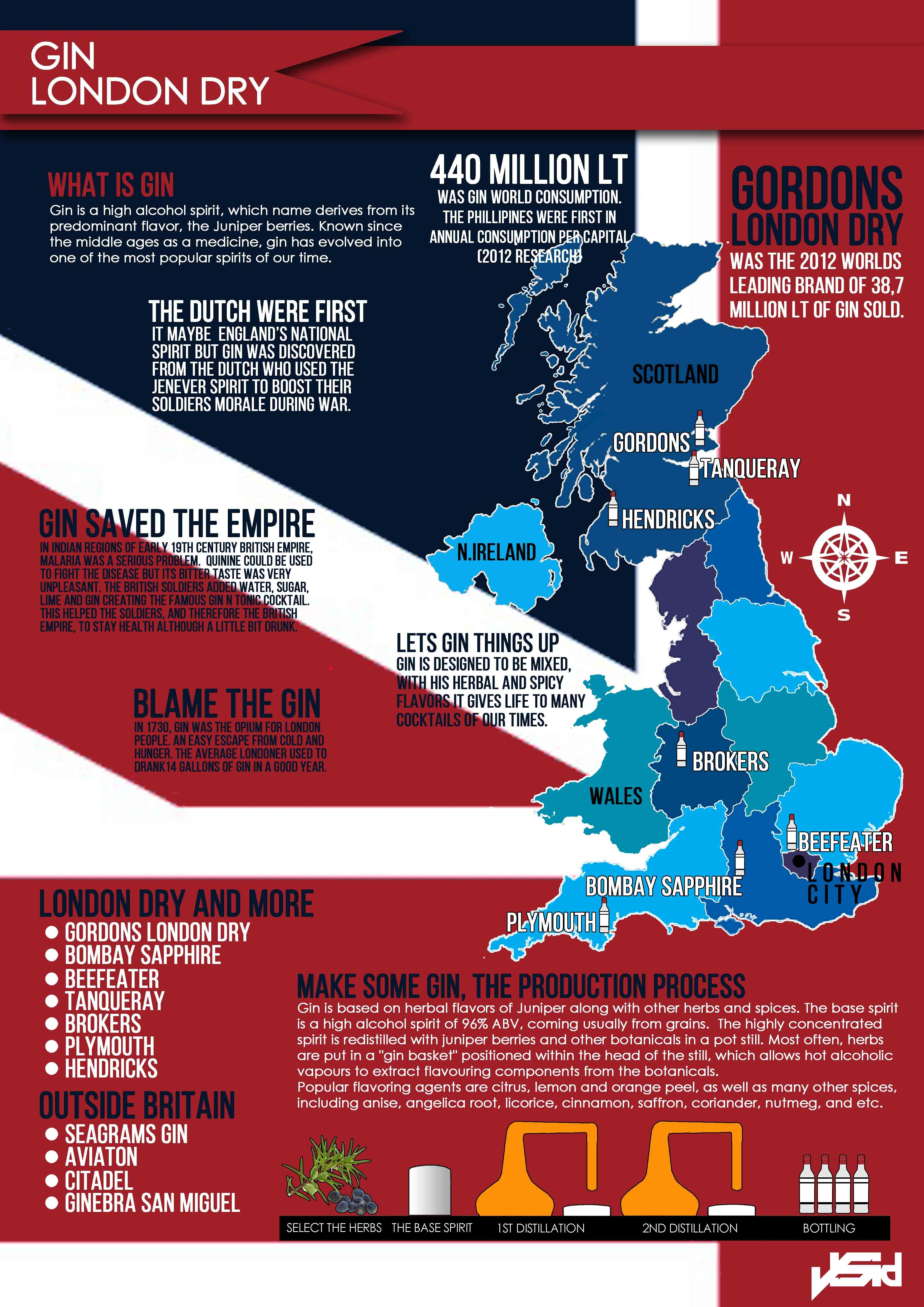 Gin Infographic What Is Gin Gin And Tonic Gin Festival