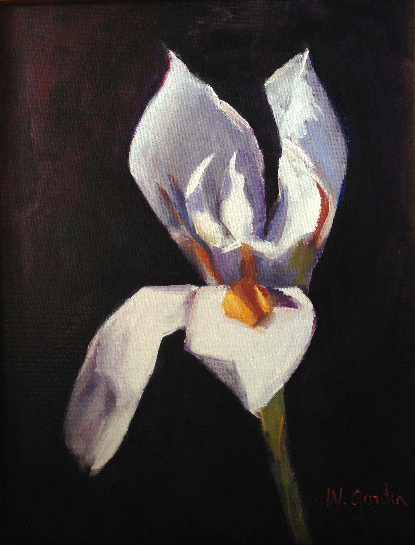 """Iris""  12x9"