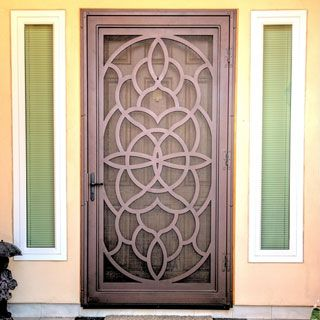 Security doors custom security screen doors steel for Security screen doors for french doors