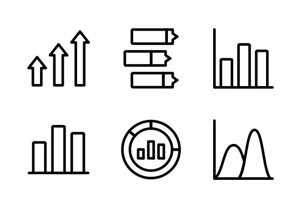 Analytics Line 4 Icons By Shashank Singh Analytics Icon Line