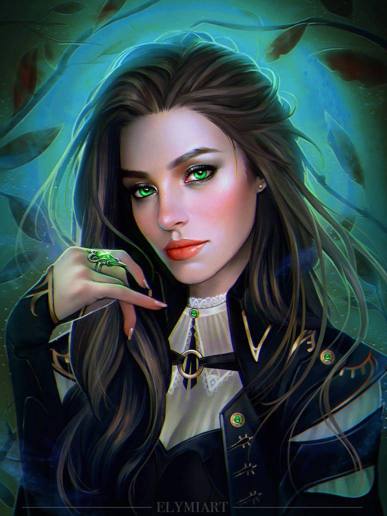 Commission By Elymiart Fantasy Art Women Digital Art Girl Concept Art Characters