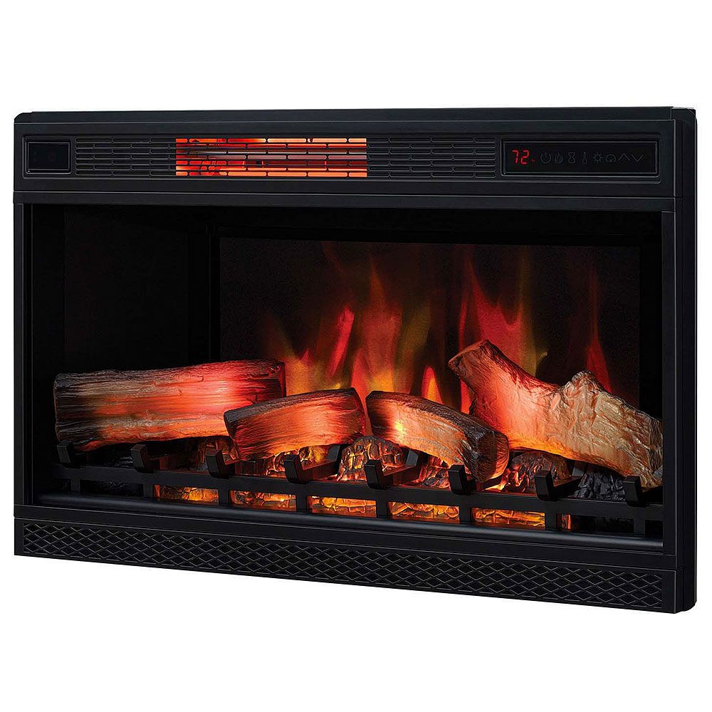 Classicflame 32 In 3d Spectrafire Plus Infrared Electric Fireplace