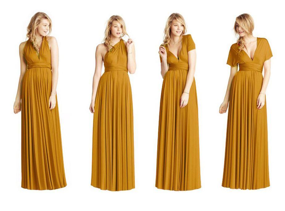18+ Boho mustard bridesmaid dress ideas in 2021