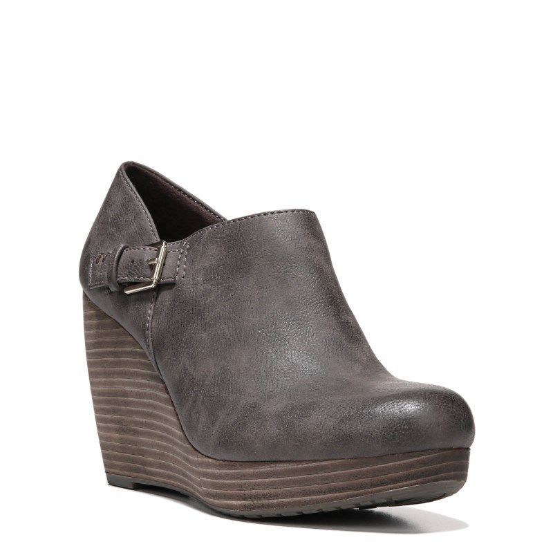 733a8e1bf88a Dr. Scholl s Women s Honor Wedge Booties (Dark Brown)