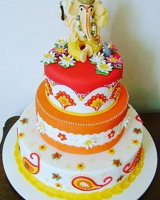 Get ready for A little inspiration for your Ganesh Chaturthi cake