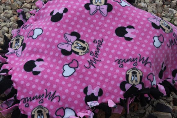 "Handmade 2-Layer Fleece Tie Throw Blankets ~ 5 Styles ~ Approximately 43/"" x 55"""