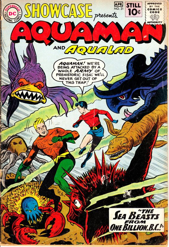 Showcase 19561978 31 April 1961 issue DC Comics by