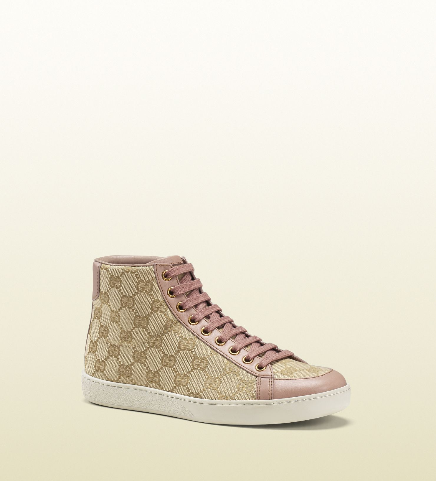 ac7aef0ce204 Gucci - brooklyn original GG canvas high-top sneaker