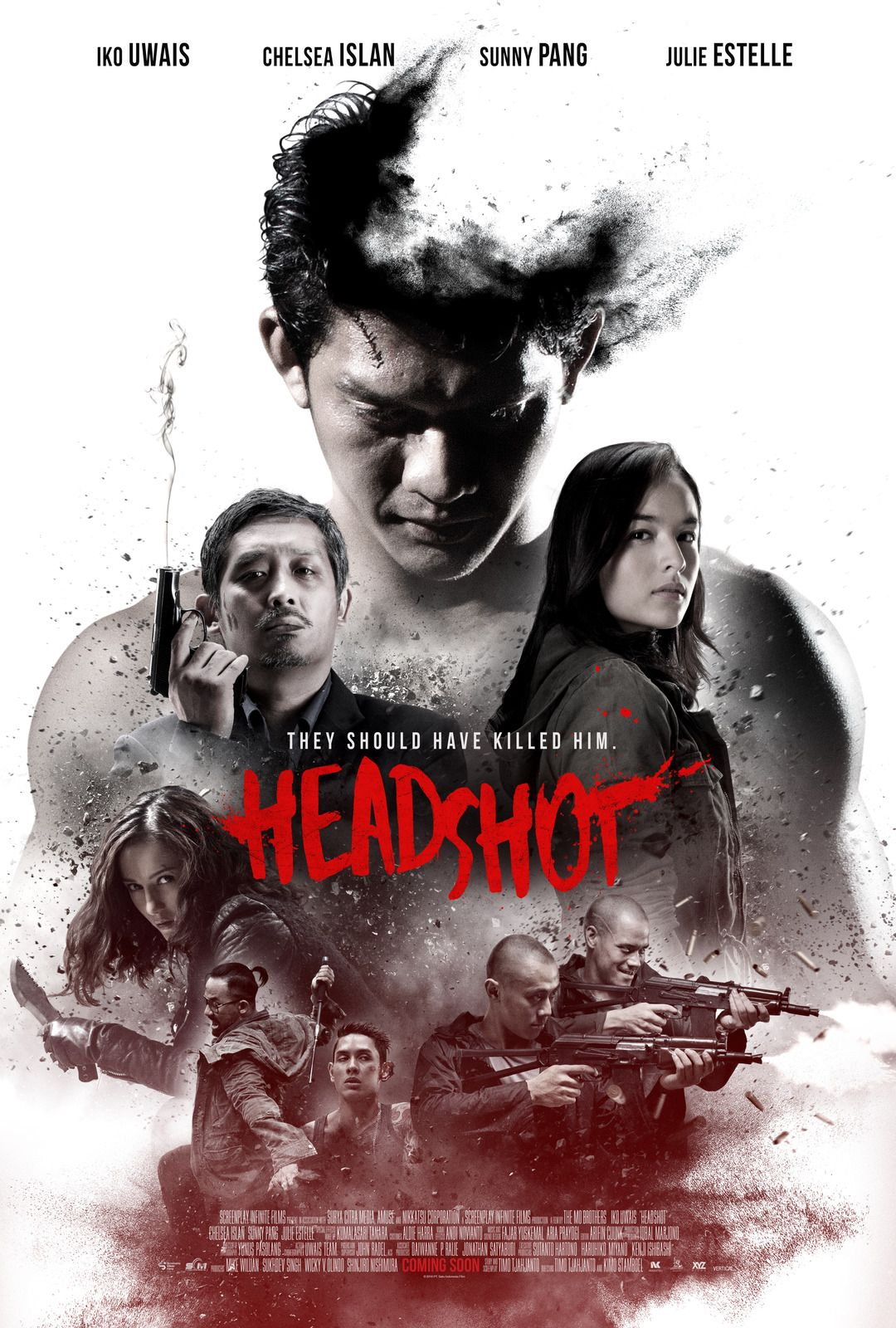 Best Poster For Headshot Starring Iko Uwais From The Raid 400 x 300