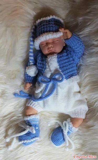 для самых маленьких мальчикам вязание для детей страна мам