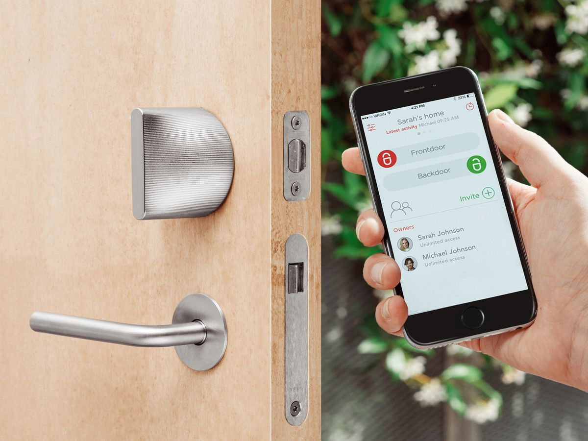 Smart Door Locks Have Been Floating Around The Internet As Of Recent Years,  Bearing Promises Of Automatic Locks And Remote Access. Friday Lock Is The  Same; ...