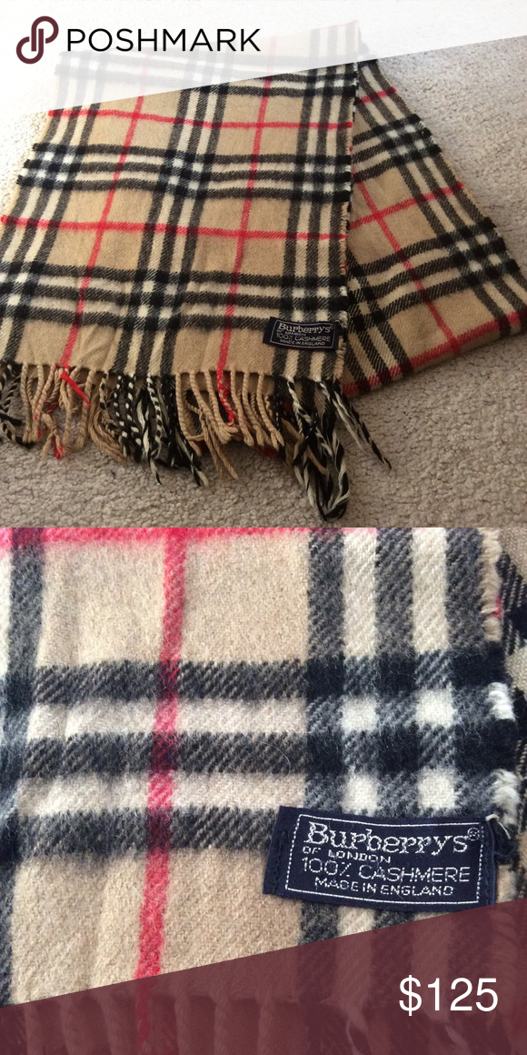 Burberry scarf real or fake - The eBay Community