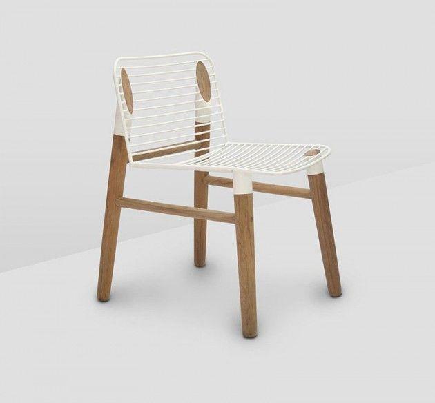 Cutting Edge Chair by Jakkapun Charinratana of Studio248
