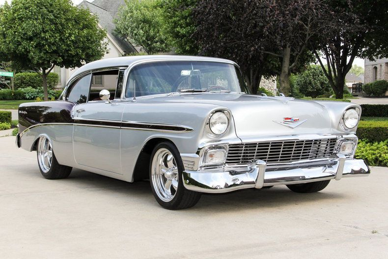1956 Chevrolet Bel Air 150 210 Chevrolet Classic Cars