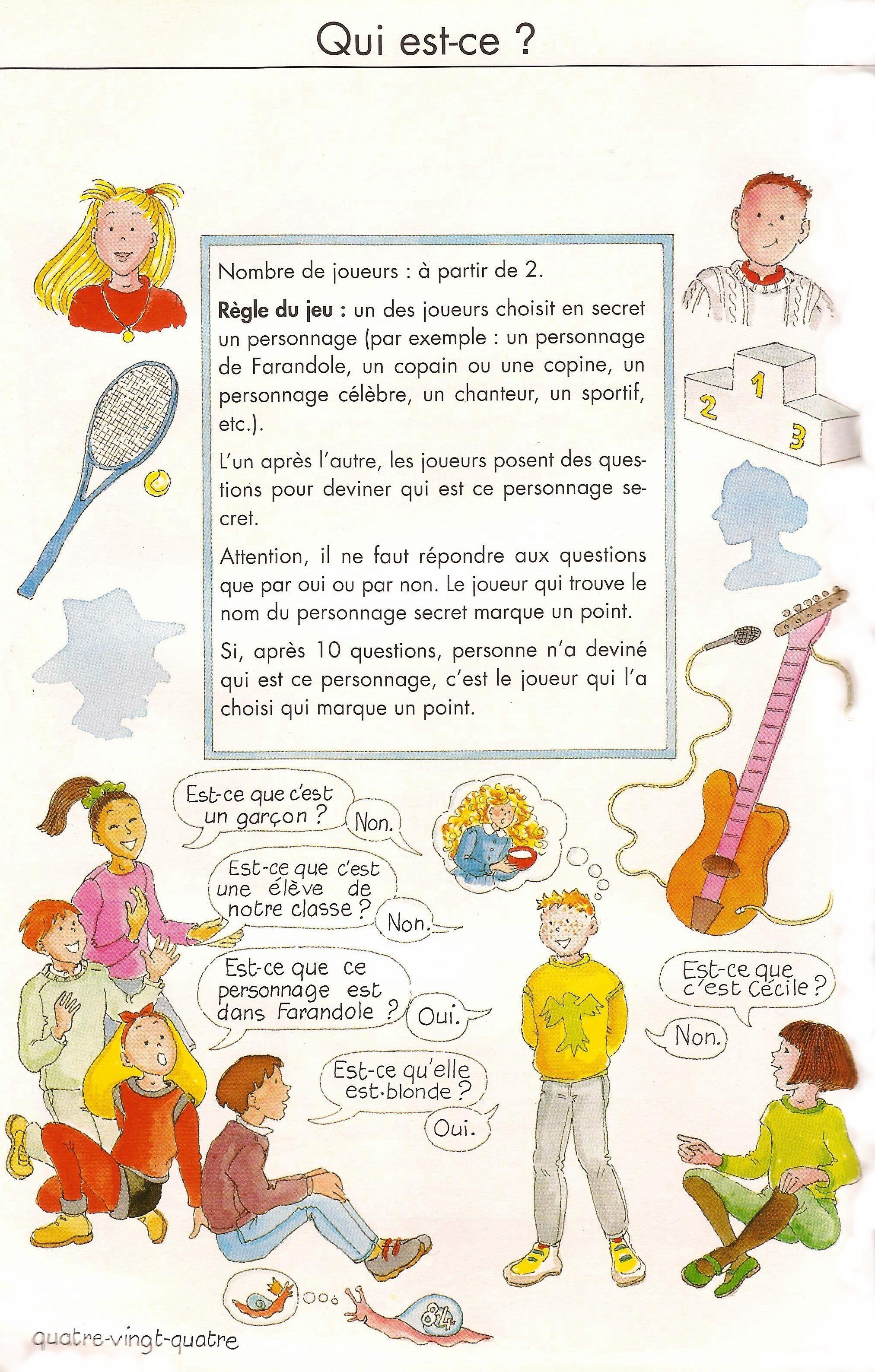 Scan De Le Hellaye Catherine Barzotti Dominique Forondole 2 Methode De Francais Paris
