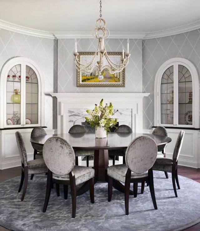 I Like The Idea Of A Large Circular Dining Table Instead Of The