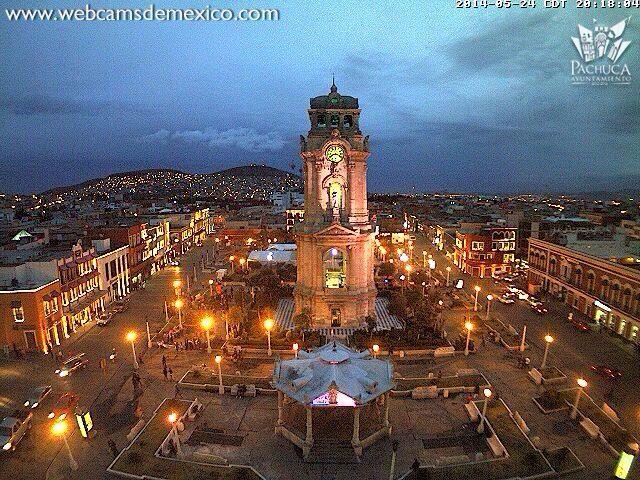 Reloj Monumental De La Ciudad De Pachuca En El Estado De Hidalgo Mexico Mexico Magico Paises Ciudades