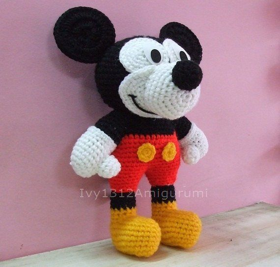 Mickey Mouse Doll Patterns Free Mickey Mouse 1141 Made To Order