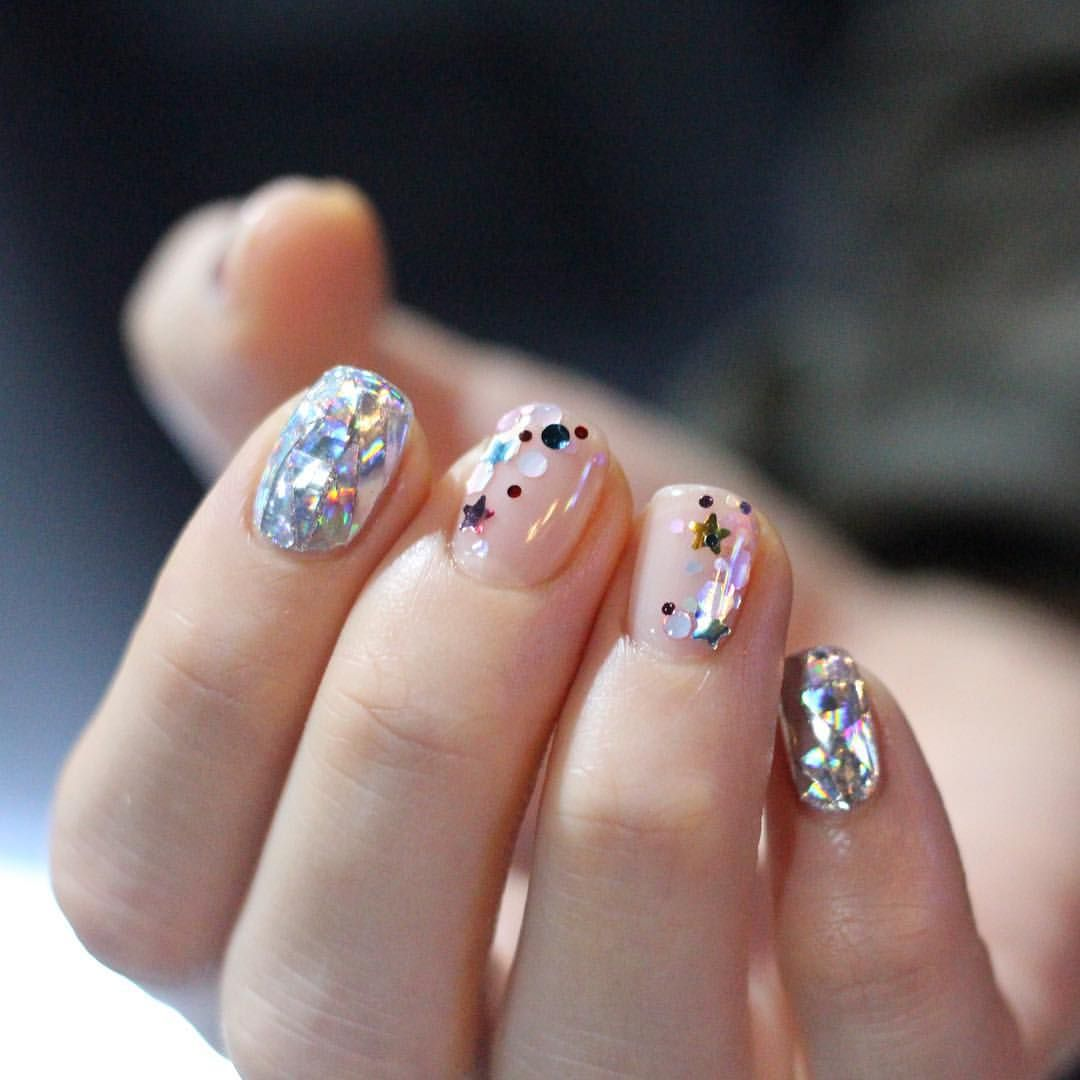 Want To See More Pins Like This Then Follow Pinterest Morgangretaaa Gorgeous Nails Trendy Nails Glitter Manicure