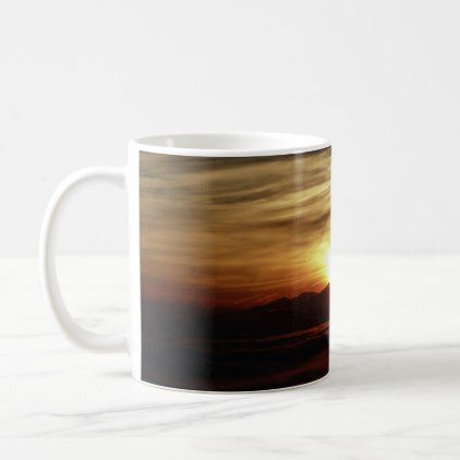 Sunset Mug - watercolor gifts style unique ideas diy