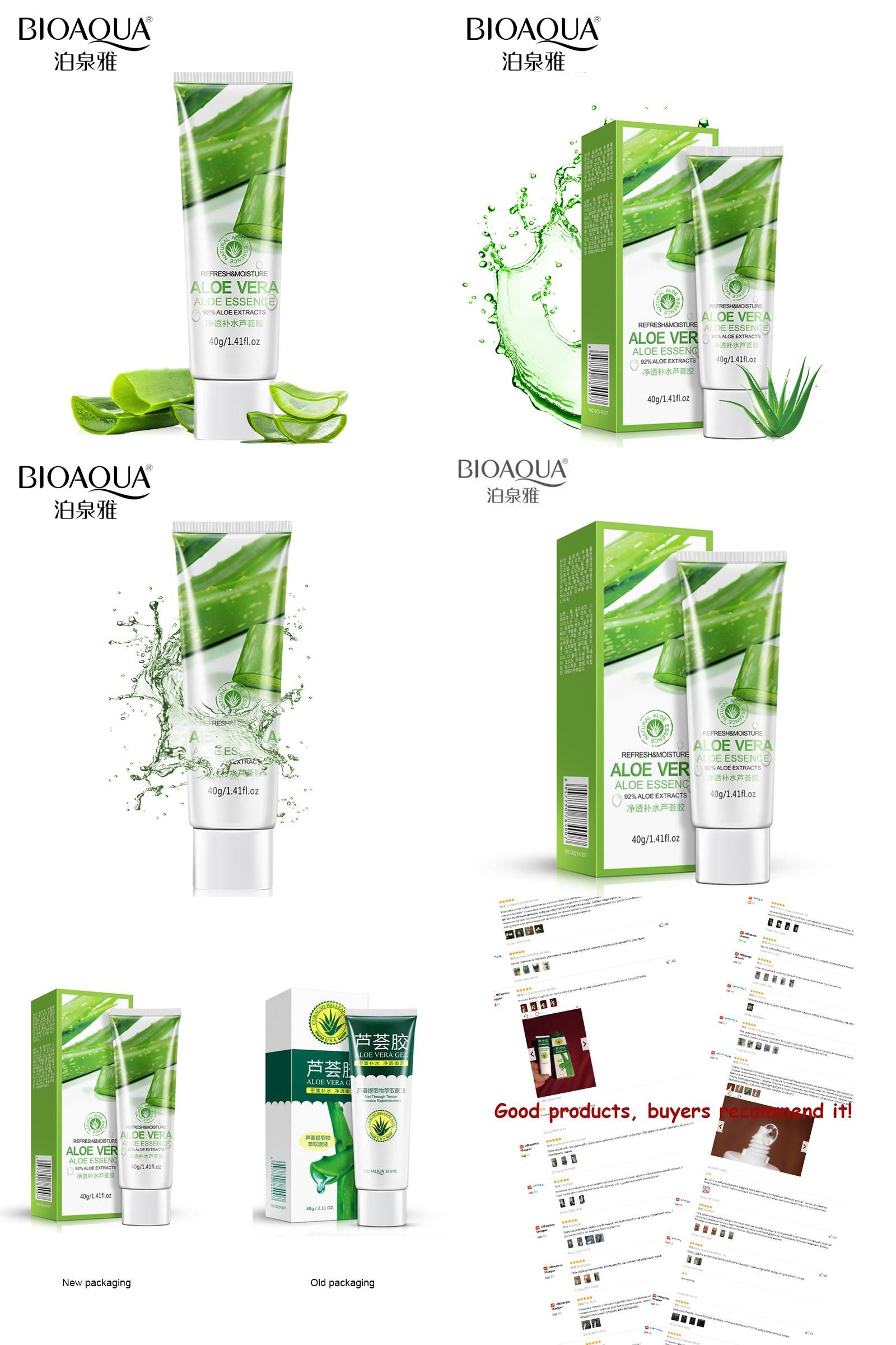 Visit To Buy Bioaqua Brand 40g Aloe Vera Gel Skin Care Face Cream Aloevera Hyaluronic