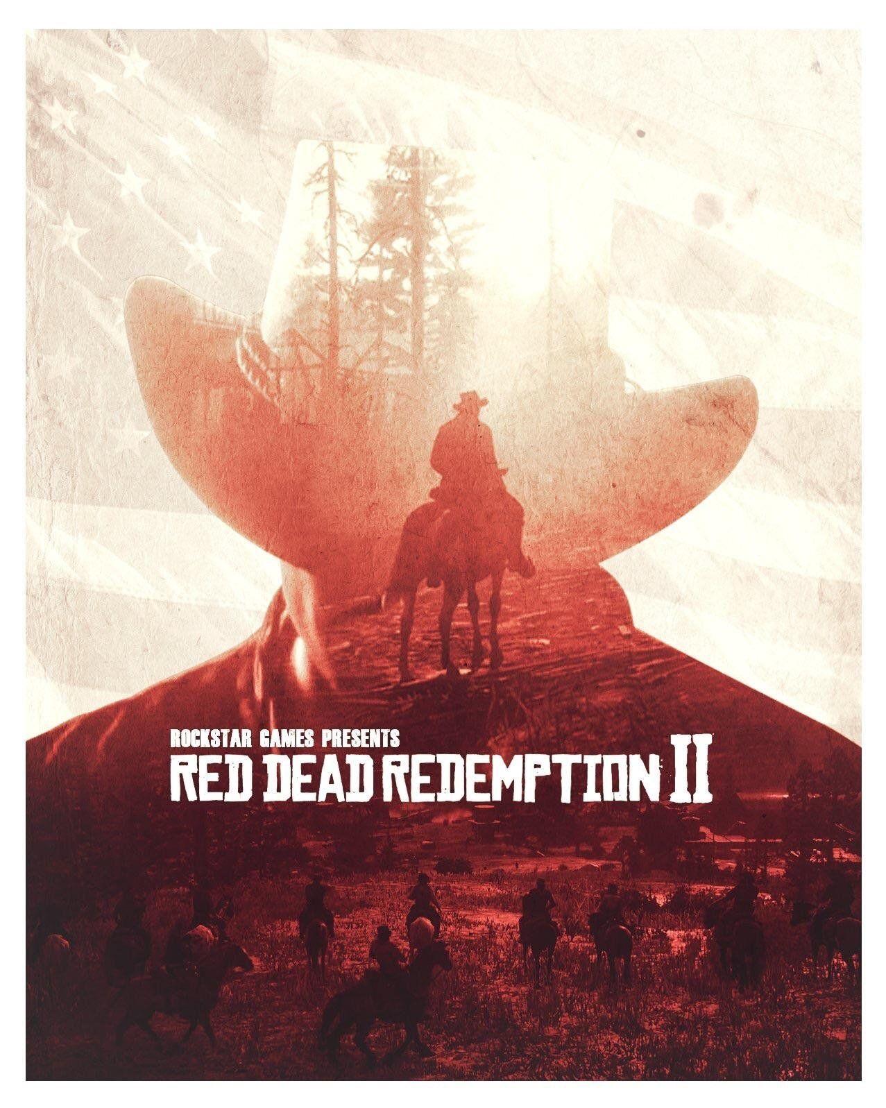 Red Dead Redemption 2 Fan Art Red Dead Redemption Poster Red Dead Redemption Artwork Red Dead Redemption Art
