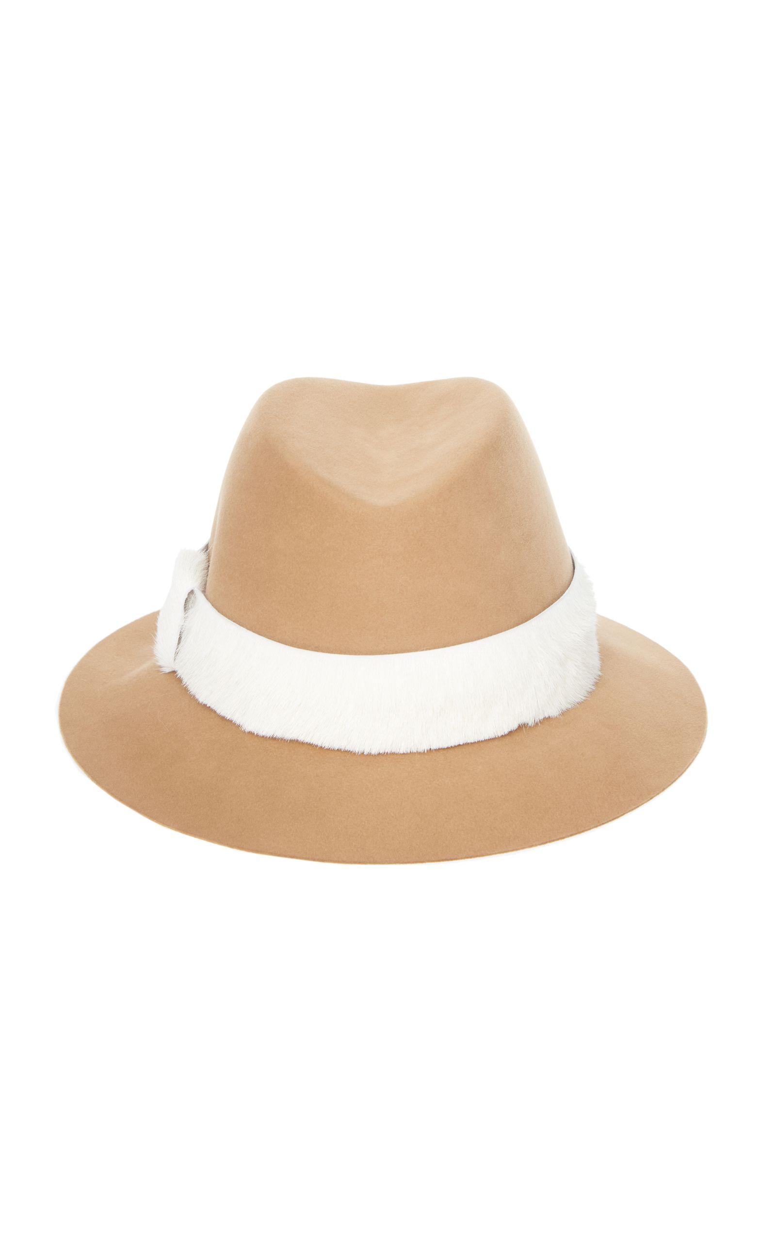 590760b9f43 AGNONA BEAVER HAT.  agnona