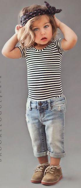 Ai meu Deus, que gracinha! Tão pequena e tão charmosa - His Her Children's Clothing| Serafini Amelia| Baby girl fashion..