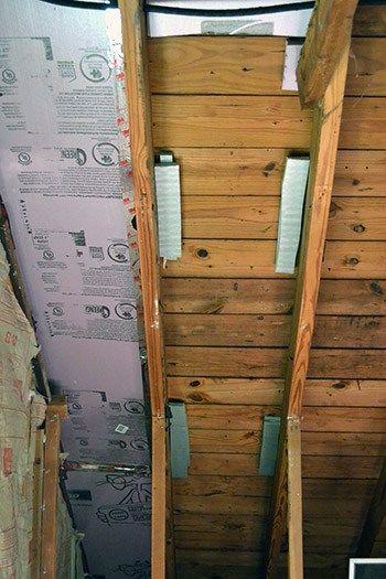 How To Use Foam Board To Insulate Attic Attic Remodel Attic Renovation Home Insulation