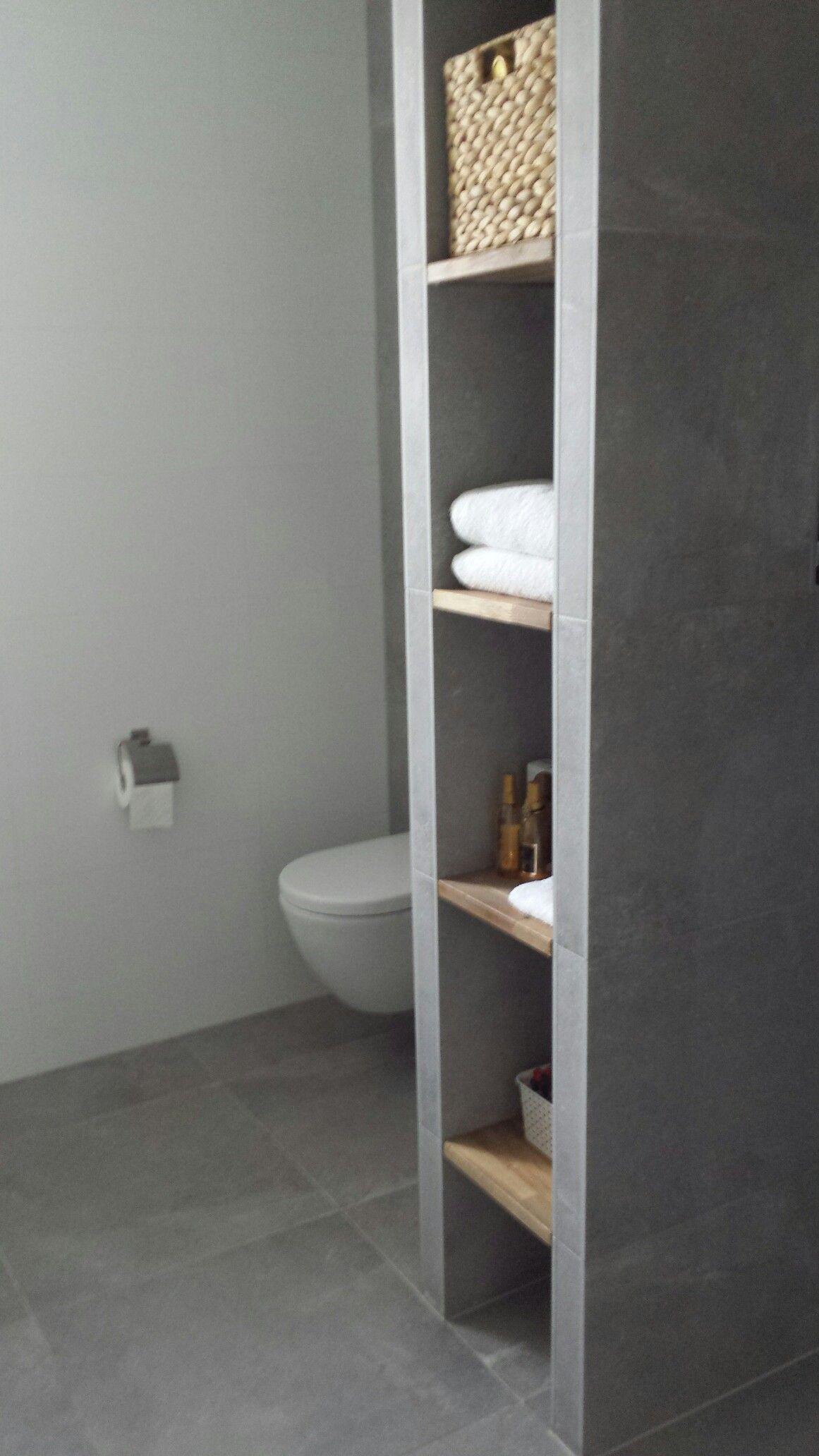 badkamer betonlook hout badkamer pinterest