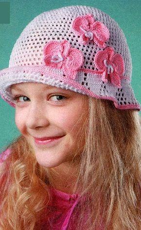 детская шляпка крючком шапки шляпки береты вязание вязание