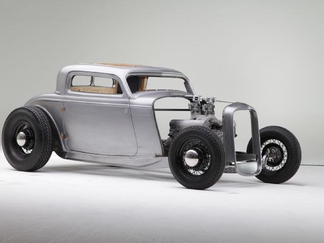 Visit Machine Shop Cafe Bare Metal Fabrication Of A 1932 Ford Built At Hollywood Hot Rods 1932 Ford Coupe Ford Hot Rod Ford Roadster