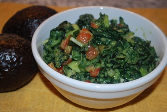 Kale Avocado Salad from the movie Planeat!