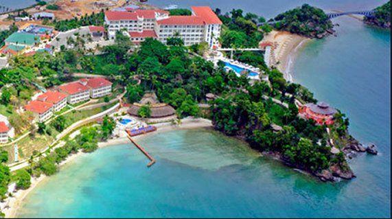 Grand Bahia Principe Cayacoa Facing Spectacular Samana Bay Northeast Coast Of The Dominican Republic Dream Vacations Hotels Dominican Republic Vacation Spots