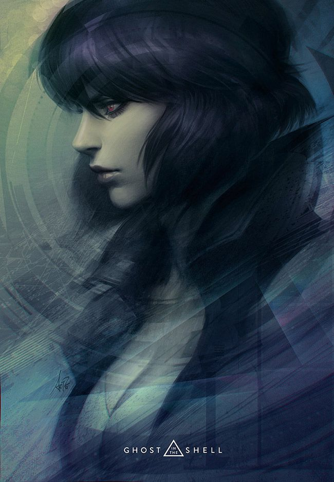 Ghost In The Shell Art Collection Ghost In The Shell Anime
