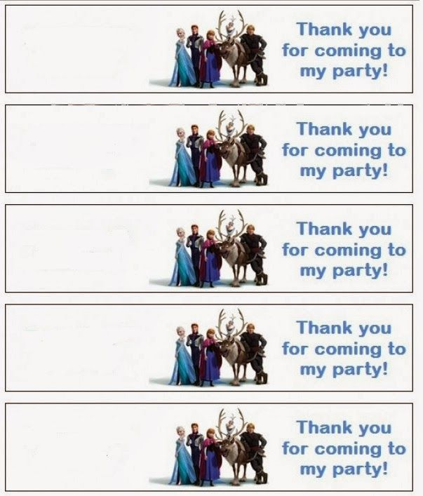 Frozen Etiquetas Para Imprimir Gratis Scrap