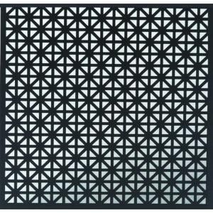 Md Building Products 1 Ft X 2 Ft Aluminum Black Union Jack Sheet 56006 At The Home Depot M D Building Products Aluminium Sheet Radiator Screen