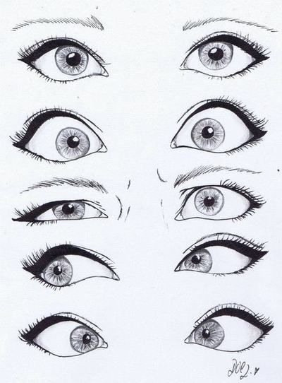 Art Beautiful Black Silly Eyes Cute Drawing Tumblr White