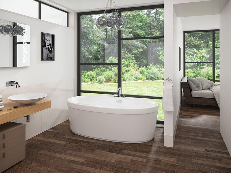 "Mirolin, Cari Acrylic Freestanding tub, DIMENSIONS 60"" x 32"" x 23 ..."