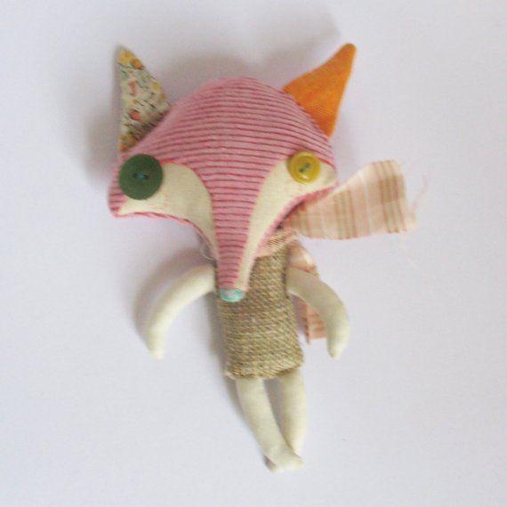 Little Iccle Creatures FOX por AbigailBrown en Etsy