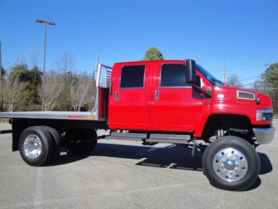 Chevy Kodiak Lifted Flatbed Camion Camiones