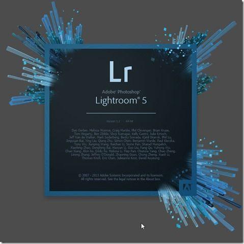 Customize your Lightroom 5 Splash Screen