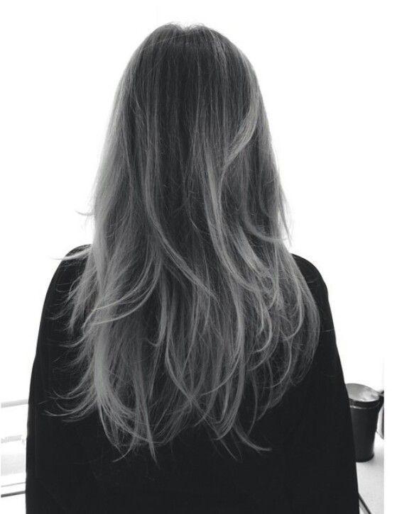Coloration cheveux gris sur cheveux noir