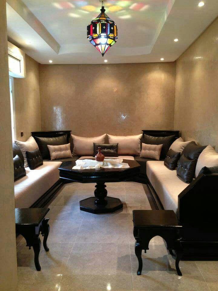 Small moroccan salon | Home | Salon marocain, Salon marocain moderne ...