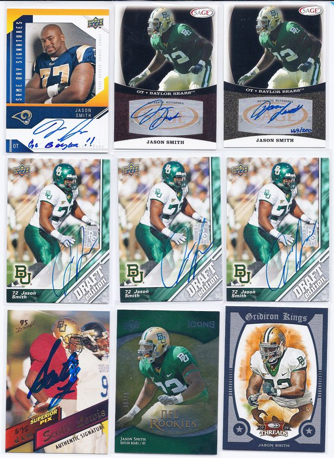 More Jason Smith rookie cards and autographs