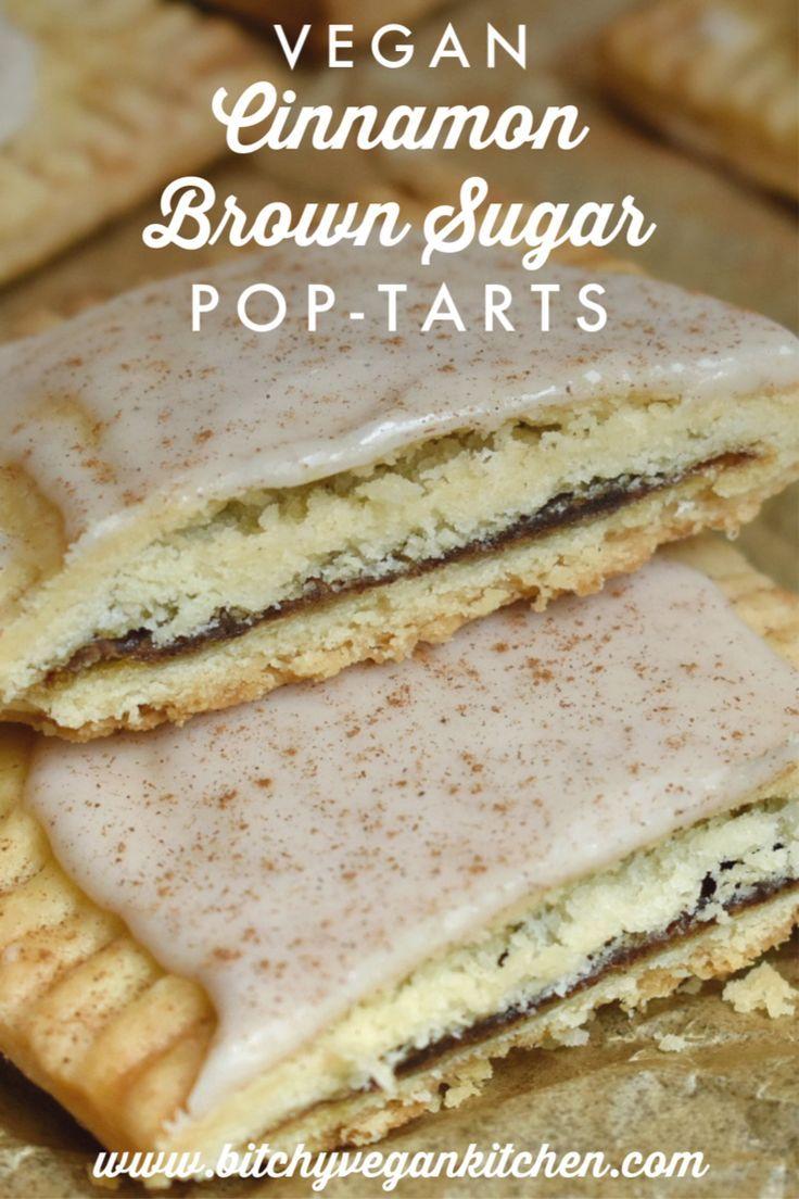 Photo of Vegan Cinnamon Brown Sugar Pop-Parts – The Bitchy Baker