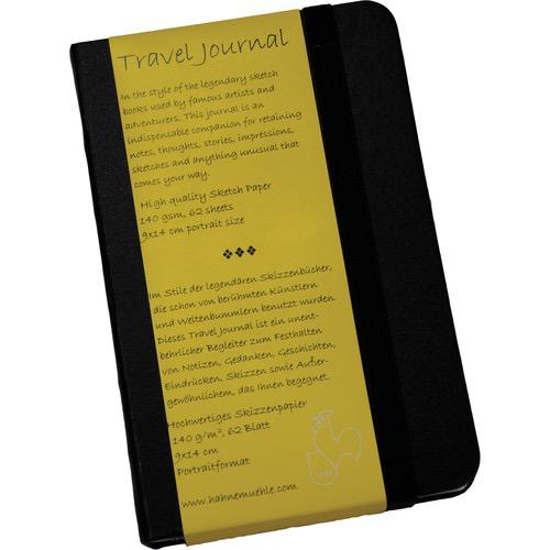 """Hahnemühle Travel Journal (3.5 x 5.5"""" Portrait, 62 Sheets)"""