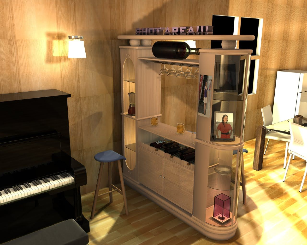 Best Mini Bar Decorating Ideas Pictures   3D House Designs   Veerle.us